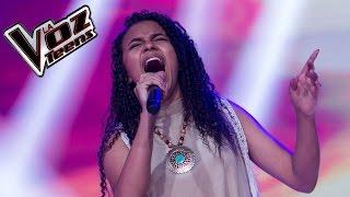 Estefany canta 'Rolling in the deep' | Audiciones a ciegas | La Voz Teens Colombia 2016