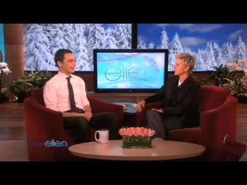 Jim Parsons Loves His Ellen Mug! Video