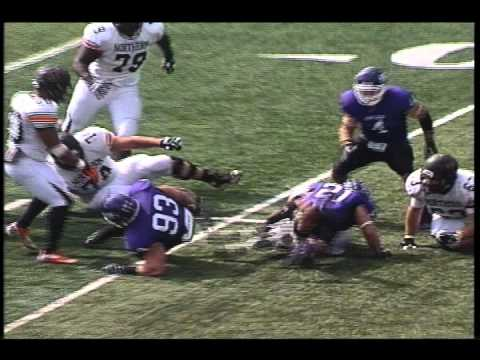 Mount Union - Ohio Northern Highlights (9/29/12)