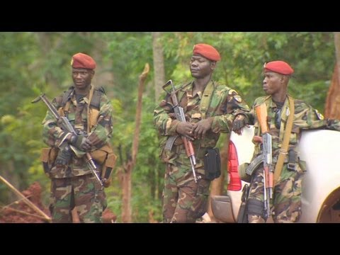 central africa - Nima Elbagir takes us along as troops go hunting for LRA leader Joseph Kony.