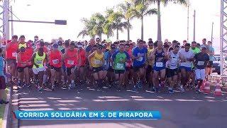 Atletas participam de corrida solidária e ajudam instituição em Salto de Pirapora