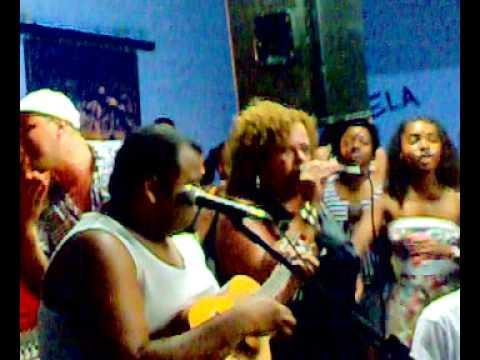 Jurema Pecanha no Botequim do Berço do Samba de São Mateus