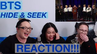 Video BTS HIDE & SEEK REACTION @ LATE LATE SHOW download in MP3, 3GP, MP4, WEBM, AVI, FLV January 2017