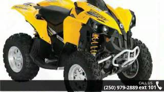 9. 2008 Can-Am Renegade 500 H.O. EFI 4x4  - Banner Recreatio...