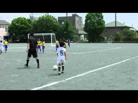 東源台FC 2012 U10青葉リーグ前期LeagueB 第1節 VS ピュアA 後半