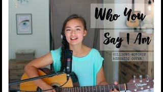 Who You Say I Am - Hillsong Worship Acoustic (cover) // Tamara Emma