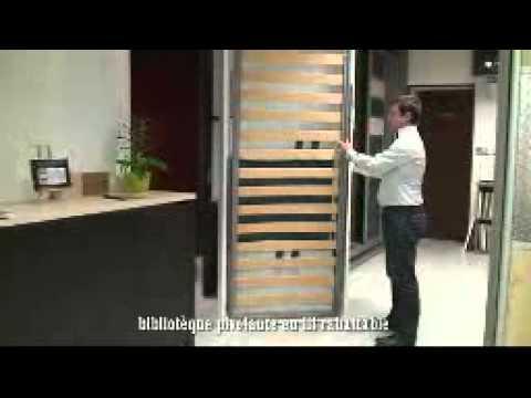 vidéo rangeocean lit rabattable