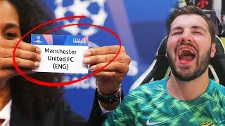 MANCHESTER UNITED ARE SCREWED!!! Champions League Round of 16 Predictions