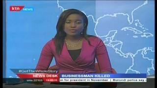 Raila Odinga Mourns A Friend Jacob Juma Who Was Killed By Unknown Gunmen