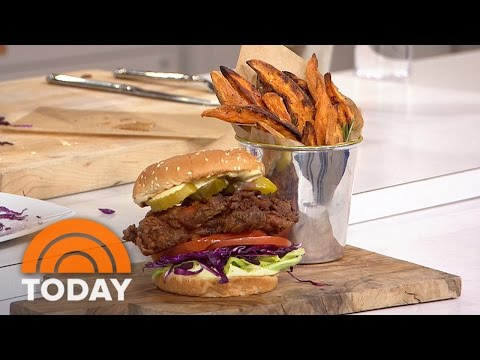 Spicy Buttermilk Fried Chicken Sandwich: Get The Delicious Southern Recipe | TODAY