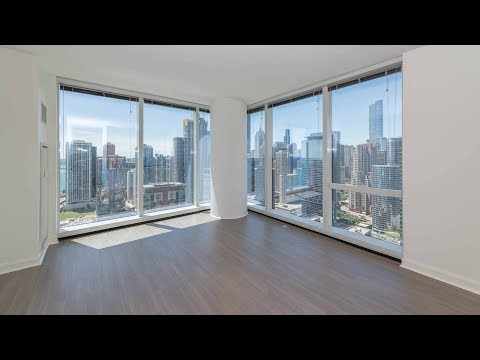 A southwest corner 2-bedroom, 2-bath at the luxurious 500 Lake Shore Drive