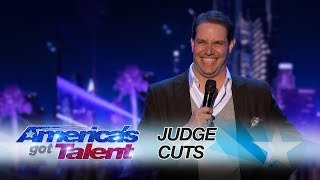 "Steven takes us back to the days of mom leaving entire stories on the old school answering machine.» Get The America's Got Talent App: http://bit.ly/AGTApp» Subscribe for More: http://bit.ly/AGTSub» Watch America's Got Talent Tuesdays 8/7c on NBC!» Watch Full Episodes Free: http://bit.ly/AGTFullEpisodes» See Howie Join a Dance Troupe!: http://bit.ly/2r6yU0yAMERICA'S GOT TALENT ON SOCIALLike AGT: https://www.facebook.com/agtFollow AGT: https://twitter.com/agtAGT Tumblr: http://nbcagt.tumblr.com/AGT Instagram: http://instagram.com/agtIn season 12, NBC's America's Got Talent follows Simon Cowell, Heidi Klum, Mel B and Howie Mandel in their talent search, showcasing unique performers from across the country. Find America's Got Talent trailers, full episode highlights, previews, promos, clips, and digital exclusives here. NBC ON SOCIALLike NBC: http://Facebook.com/NBCFollow NBC: http://Twitter.com/NBCNBC Tumblr: http://NBCtv.tumblr.com/NBC Pinterest: http://Pinterest.com/NBCtv/NBC Google+: https://plus.google.com/+NBCYouTube: http://www.youtube.com/nbcNBC Instagram: http://instagram.com/nbcABOUT AMERICA'S GOT TALENTWith the talent search open to acts of all ages, ""America's Got Talent"" has brought the variety format back to the forefront of American culture by showcasing unique performers from across the country. The series is a true celebration of the American spirit, featuring a colorful array of singers, dancers, comedians, contortionists, impressionists, jugglers, magicians, ventriloquists and hopeful stars, all vying for their chance to win America's hearts and the $1 million prize.Steven Scott: Comedian Impersonates Mom's Answering Machine Messages - America's Got Talent 2017https://youtu.be/-S_Kg-KsuvIAmerica's Got Talenthttp://www.youtube.com/user/americasgottalent"
