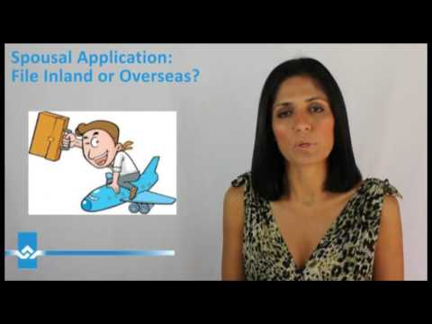 Spousal Application File Inland or Overseas Video