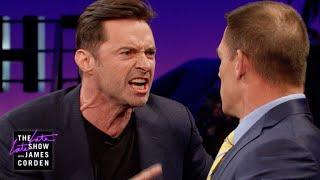 Video John Cena Teaches Hugh Jackman Reverse Trash Talking MP3, 3GP, MP4, WEBM, AVI, FLV April 2018