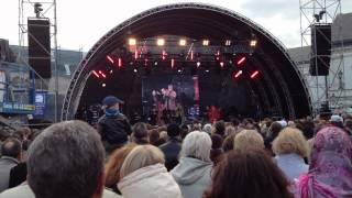 XVIII Klaipėdos pilies džiazo festivalis - Niki Haris ( JAV ) ir Kongas (Lietuva) 2012 06 02.