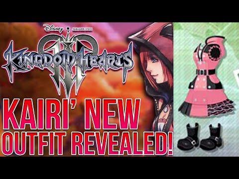 Kingdom Hearts 3 - KAIRI' NEW OUTFIT REVEALED! (видео)