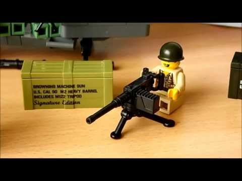 BrickArms Opening/Review M1917A1, M2HB, Golden Crate Mystery Pack (Deutsch/German)
