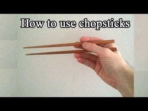 How to use chopsticks - Short and easy tutorial