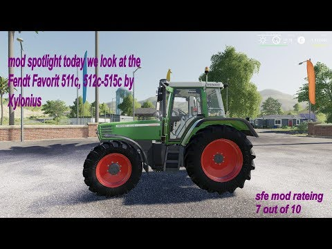 Fendt Favorit 511c, 512c-515c v1.2.2