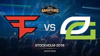 FaZe vs OpTic - DH MASTERS Stockholm - map2 - de_train [sl4m, Strike]