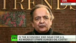 Celente: Great 21 century war looming, Egypt & Libya just brush fires