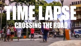 Time Lapse w/ Nokia Lumia 620: Crossing The Road at Place D'Armes - Mauritius #10