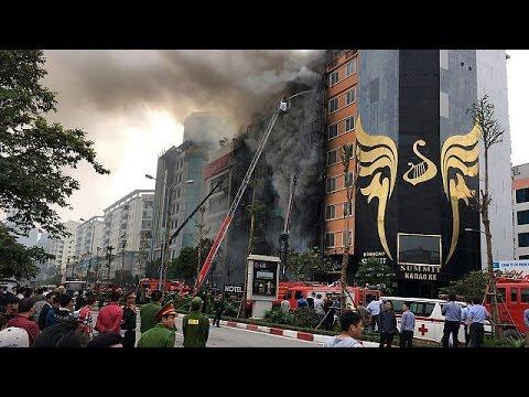 Βιετνάμ: Νεκροί από φωτιά σε μπαρ στο Ανόι – world