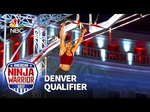 Meagan Martin at the Denver Qualifiers - American Ninja Warrior 2017