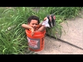 Funny kids and babies getting stuck compilation