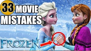 Video 33 Mistakes of FROZEN You Didn't Notice MP3, 3GP, MP4, WEBM, AVI, FLV Februari 2019