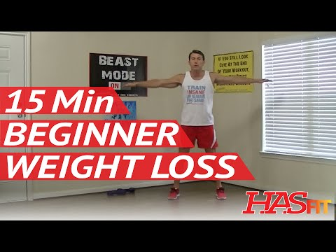 15 Min Beginner Workout for Weight Loss & Strength – HASfit Easy Exercises – Easy Workouts