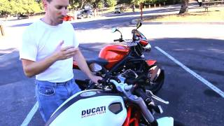 7. 2010 Triumph Street Triple R vs. 2011 Ducati Monster 796 Motorcycle Shootout