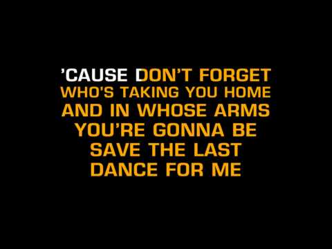 Michael Buble - Save The Last Dance For Me (Karaoke)