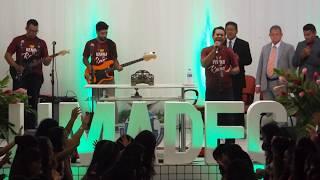Coral UMADEC no 1º dia de Congresso de Mocidade 2017 - Pai Nosso