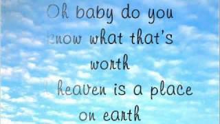 Download Lagu Heaven Is A Place On Earth - Katie Thompson Lyrics Mp3
