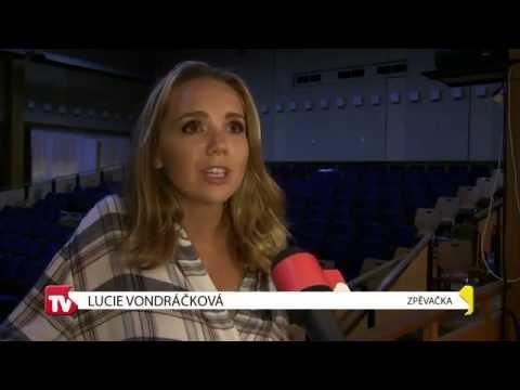 TVS: Strážnice - Lucie Vondráčková zahájila turné ve Stážnici