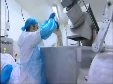 Fabrication de la viande de kebab dans une usine