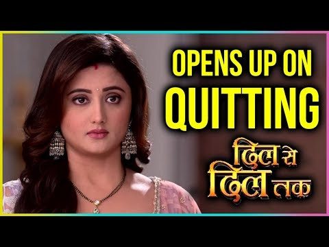 Rashami Desai Finally OPENS UP On Her QUITTING Dil