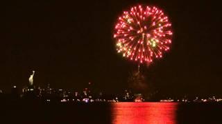 New York 2012 New Year Fireworks