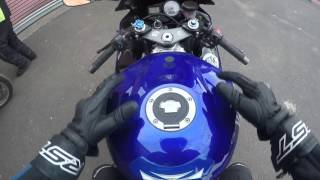 10. First time on Yamaha YZF R6