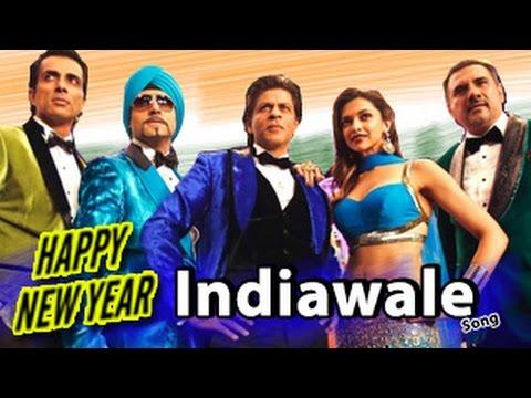 IndiaWaale Happy New Year Video Song RELEASES   Shahrukh Khan, Deepika Padukone