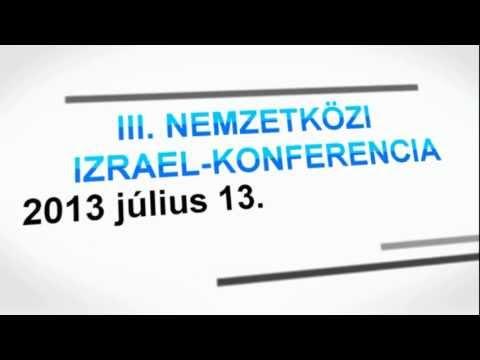 III. Izraeli Konferencia, Budapest