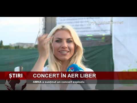 AMNA a susținut un concert exploziv