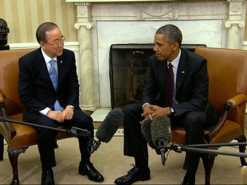 Obama i Ban Ki Mun razgovarali o klimatskim promenama