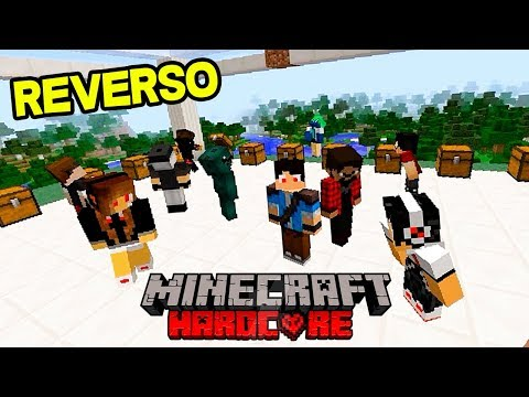 Download Minecraft: HARDCORE REVERSO - MAIOR HARDCORE DE YOUTUBERS JÁ FEITO !!! HD Mp4 3GP Video and MP3