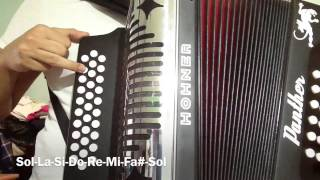 Video Escalas de Do, Re, Fa, Sol y Sib en acordeon de sol (HD) MP3, 3GP, MP4, WEBM, AVI, FLV Juni 2018