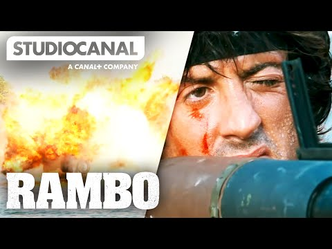 TOP SCENES FROM RAMBO: FIRST BLOOD PART II - Starring Sylvester Stallone