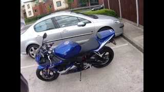 6. 2005 Yamaha R6 Review & First Ride Part1