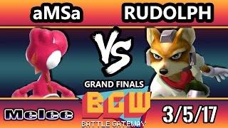 Video BGW15 SSBM - VGBC | aMSa (Yoshi)  Vs. Rudolph (Fox) Smash Melee GF MP3, 3GP, MP4, WEBM, AVI, FLV Oktober 2017