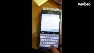 Galaxy note 4 samsung account activation bypass